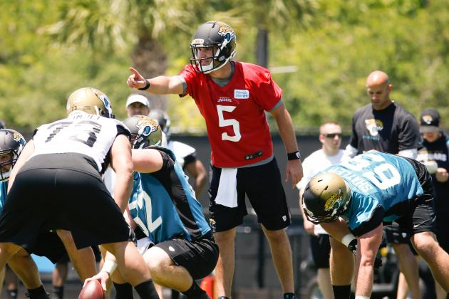 Blake Bortles: I Must Have 'Mindset' to Take over at QB