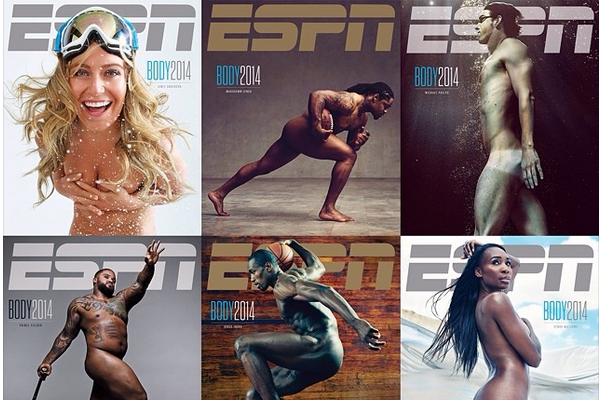 ESPN Body Issue 2014: Official Photos Revealed for Featured Athletes