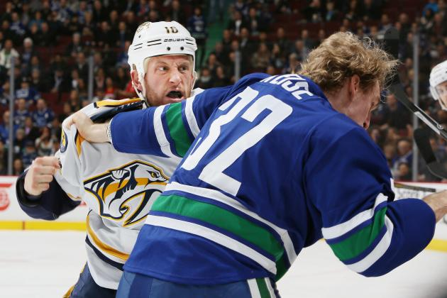 Nashville's Rich Clune Opens Up About Alcoholism, Sobriety in NHL