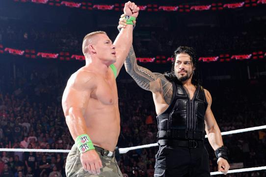 WWE Raw Teases Future Roman Reigns vs. John Cena Match