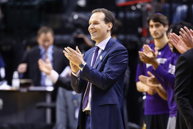 Chris Collins Is Optimistic About the Future of Northwesternbasketball