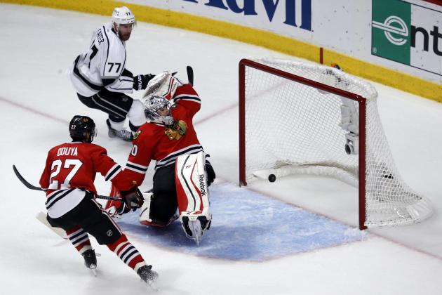 Realistic Expectations for Corey Crawford in Chicago Blackhawks' 2014-15 Season