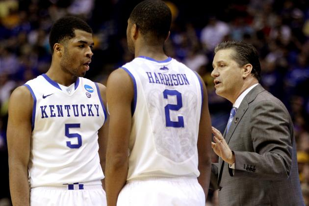College Basketball: Are the Kentucky Wildcats Too Deep?