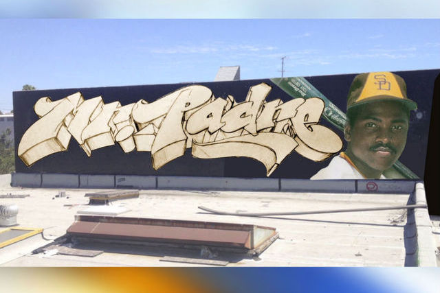 San Diego Graffiti Artists Honor the Late Tony Gwynn with a Mural
