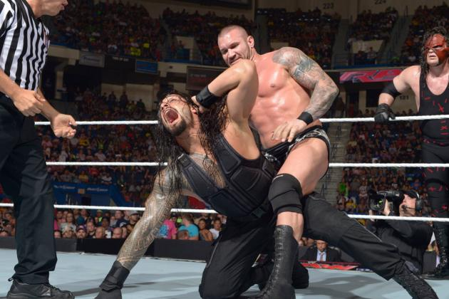 WWE Battleground 2014: Full Odds for Each Star in Fatal 4-Way Match