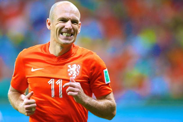Arjen Robben: Love Him or Hate Him, He Has Starred at This World Cup