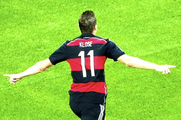 Miroslav Klose Passes Ronaldo for Most Goals Scored in World Cup Career