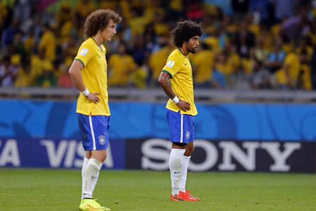Twitter Reacts to David Luiz, Fred's Performances vs. Germany