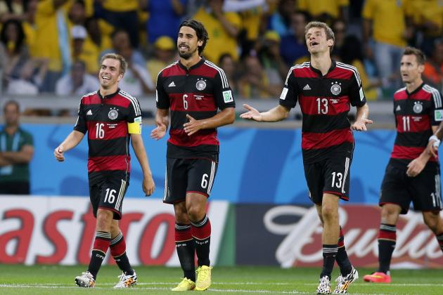 World Cup Results 2014: Final Score, Updated Golden Boot Contenders After Day 27