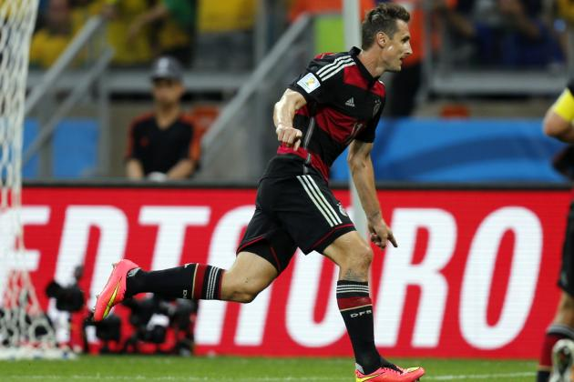 Miroslav Klose Breaks Ronaldo Record to Compound Brazil Misery