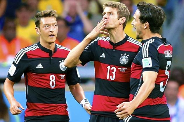 Germany Justify Joachim Low's Decision-Making in Stunning Win Over Brazil