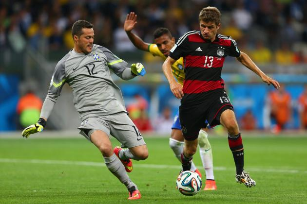 Brazil vs. Germany: Selecao Trounced Tactically, Technically and Man for Man