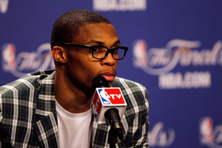 Russell Westbrook Launches His Own Line of Sunglasses 'Westbrook Frames'