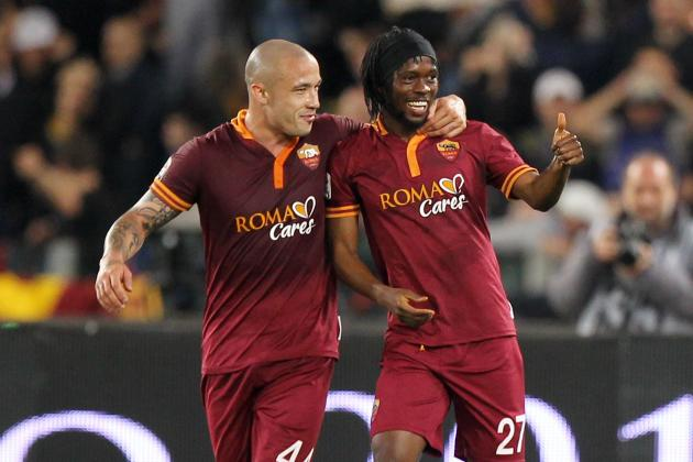 AS Roma Friendly Schedule 2014: Fixtures List for Summer Tour
