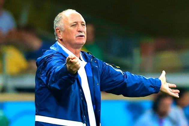 Luiz Felipe Scolari Apologizes, Takes Blame for Brazil's 7-1 Loss to Germany
