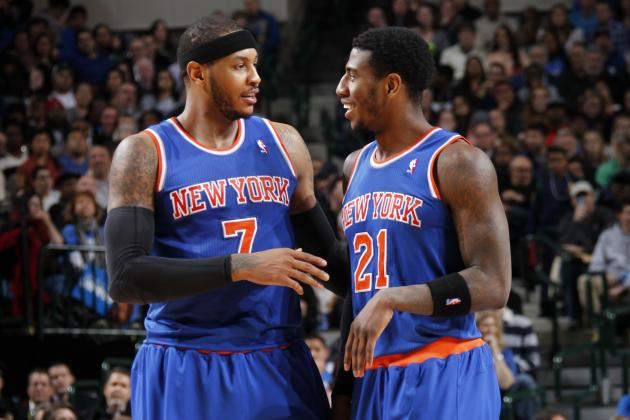 Shump: 'I Would Love for Melo to Stay in NY'