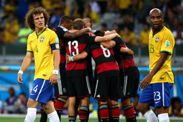 World Cup Daily Digest: Without Neymar, Brazil's Mediocrity Unmasked by Germany
