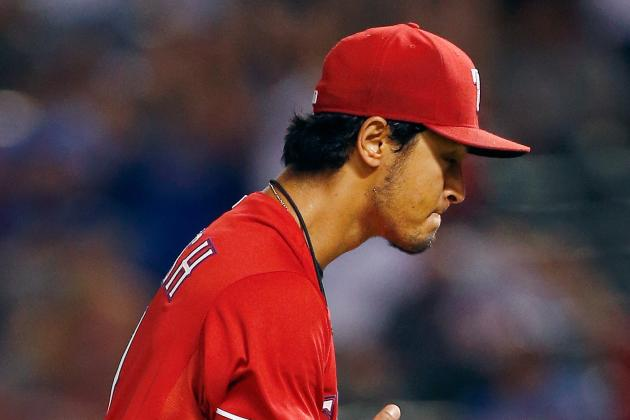 Yu Darvish Expected to Start Wednesday vs. Astros