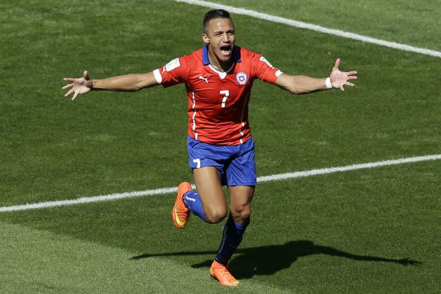 Alexis Sanchez Is the Forward Arsenal Have Been Looking for