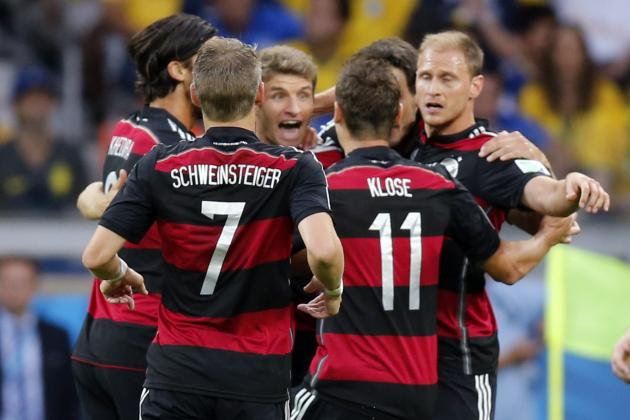 Germany Pass Brazil to Become All-Time Leaders in World Cup Goals