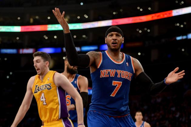 Lakers Rumors: Latest Rumblings on Carmelo Anthony, Pau Gasol and More