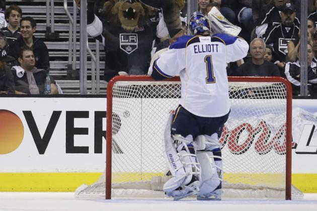 Should the St. Louis Blues Be Comfortable with Brian Elliott in Net?