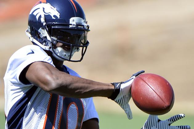 "Emmanuel Sanders: Playing with Peyton Manning Is ""Wide Receiver Heaven"""