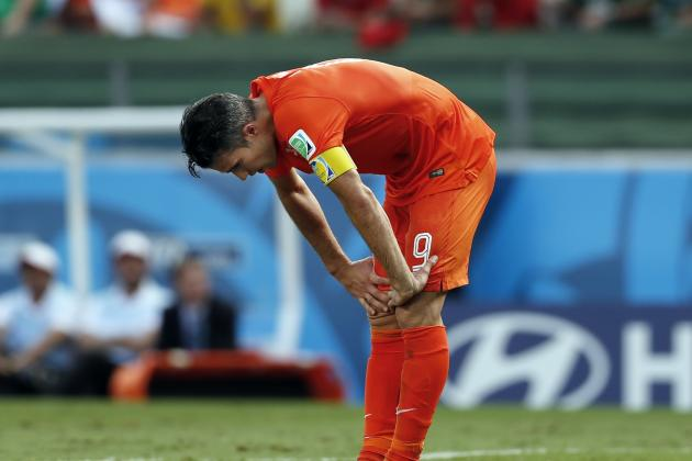 Van Persie Must Improve If the Netherlands Are to Beat Argentina