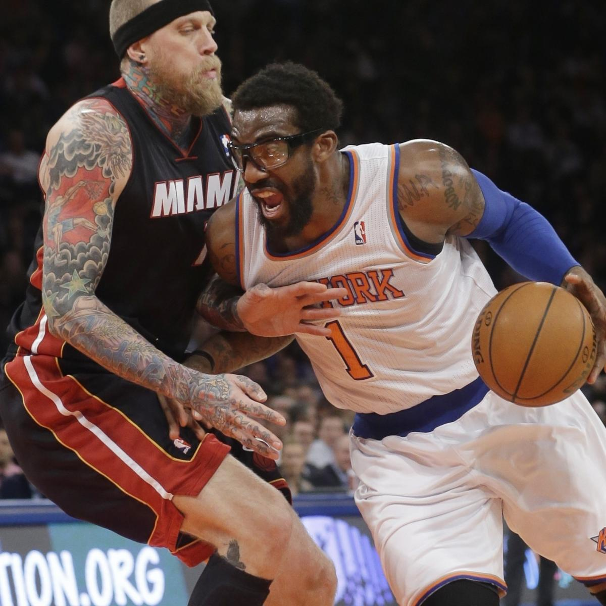 Knicks trade down options