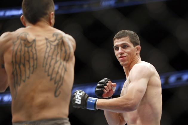 Alex White Will Look to Keep Things Rolling at UFC Fight Night 45