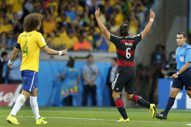 Sami Khedira Role Pays off for Germany in World Cup Drubbing of Brazil