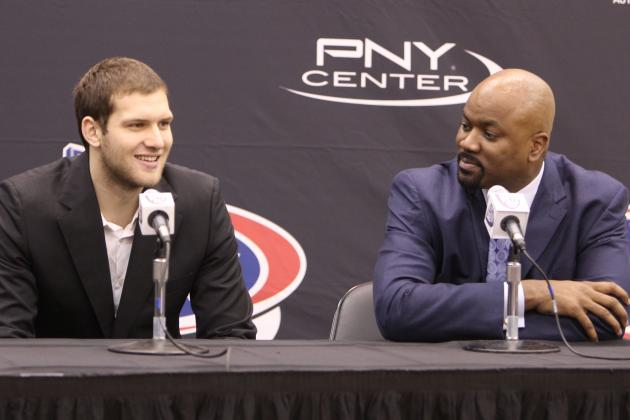 Nets Say They're Thrilled with Addition of Bojan Bogdanovic and Markel Brown