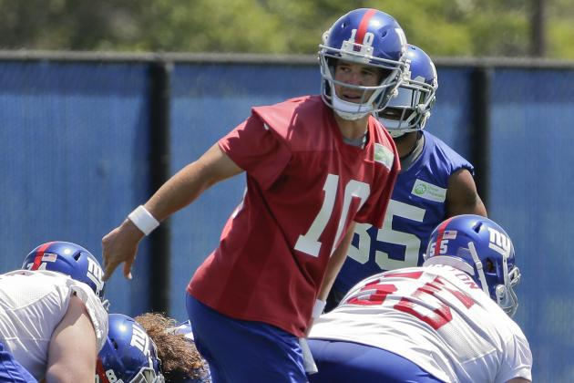 New York Giants' Training Camp Schedule Announced