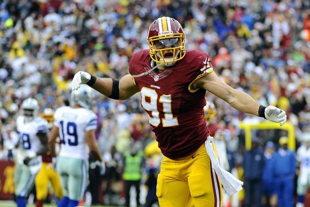 Redskins LB, Former Purdue Star Ryan Kerrigan Wants More in 2014