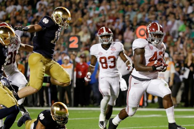 How Germany 7, Brazil 1 Compares to Alabama 42, Notre Dame 14