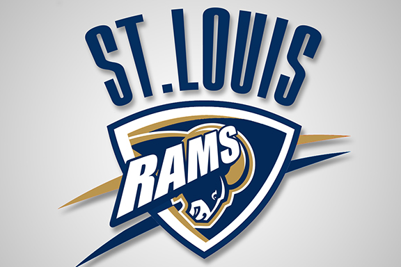 St. Louis Rams and Oklahoma City Thunder Combine Logos