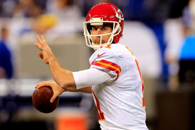 Alex Smith Has Better MVP Odds Than Any Defensive Player