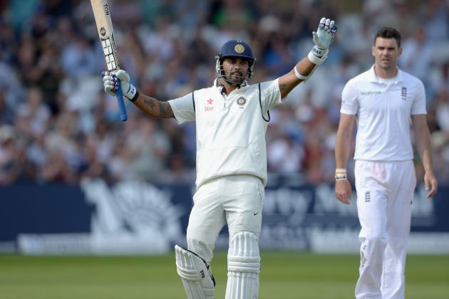 Breaking Down Murali Vijay's Century for India vs. England at Trent Bridge, 2014