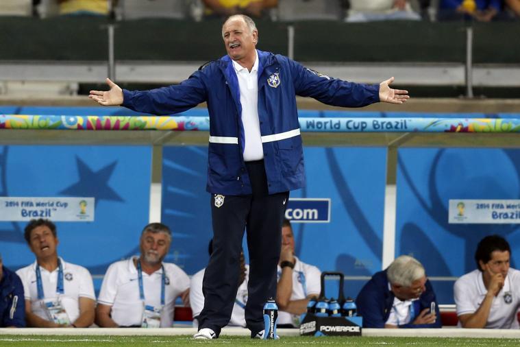 Neymar's Agent Slams 'Old Jerk' Scolari After Brazilian Disappointment