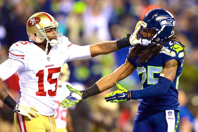 Richard Sherman Hopes to Play Michael Crabtree Every Year and 'Choke Him Out'