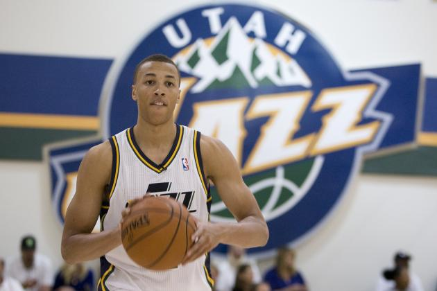 Will Keeping Gordon Hayward Help or Hurt Growth of Utah Jazz Rookie Dante Exum?