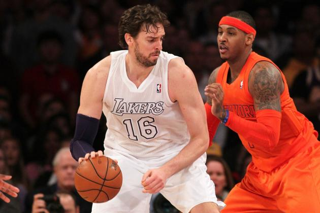 Lakers Rumors: Latest on Carmelo Anthony, Pau Gasol and More