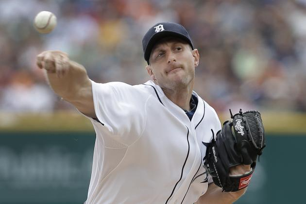 Scherzer Outduels Greinke, Tigers Top Dodgers