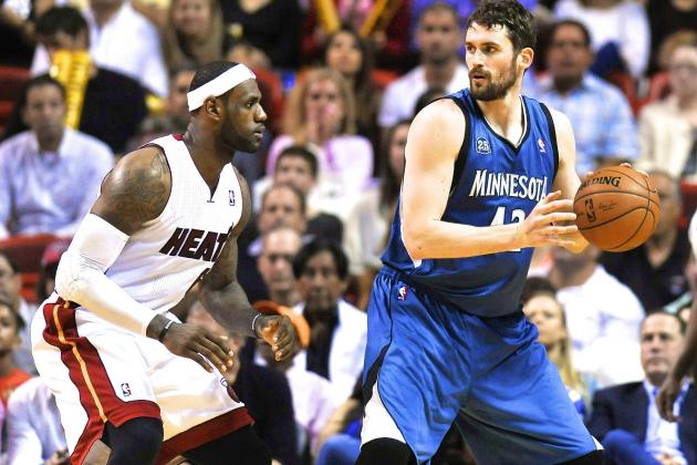 Would Landing LeBron James Make Cleveland Cavaliers Contender for Kevin Love?