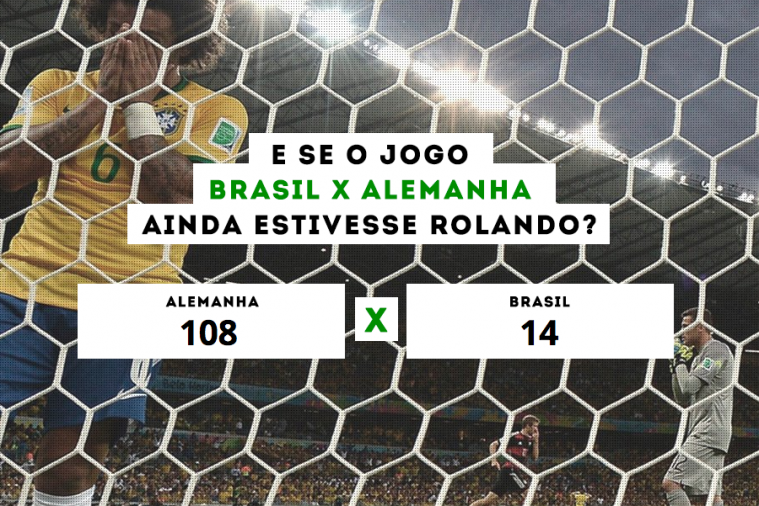 Website Shows What the Score Would Be If Germany and Brazil Were Still Playing