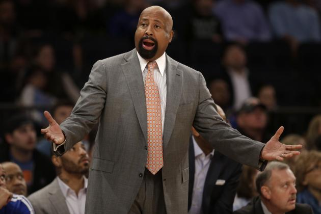 Mike Woodson Reportedly to Join Clippers' Coaching Staff