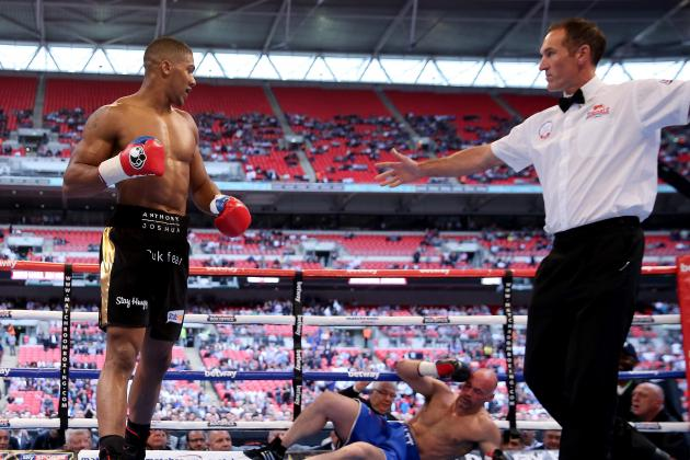 Anthony Joshua vs. Matt Skelton: Fight Time, Date, TV Info and More