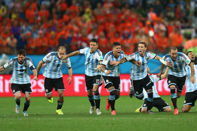 Argentina vs. Netherlands: Live Score, Highlights for World Cup 2014 Semifinals