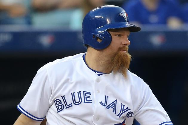 Blue Jays DH Adam Lind to Miss 6-8 Weeks with Foot Fracture