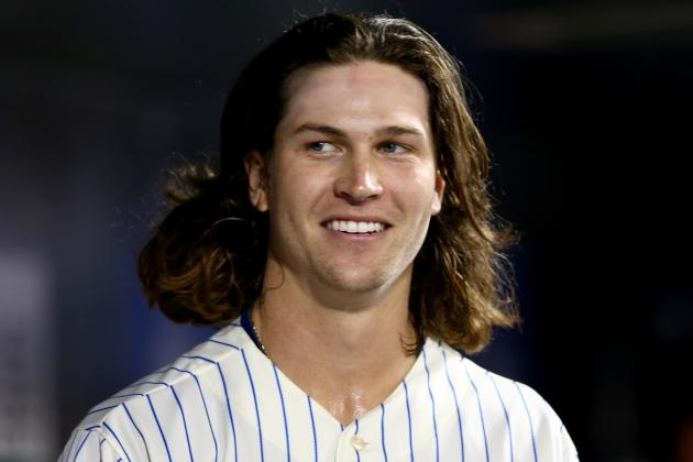Mets' Jacob deGrom 3rd in Franchise History with 2 11-K Outings in 1st 11 Starts